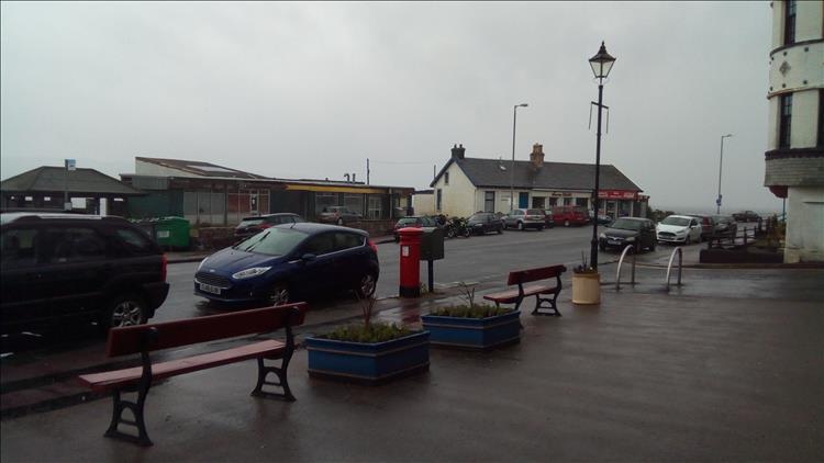 Rain and motorcycles ?at Kirn, Scotland