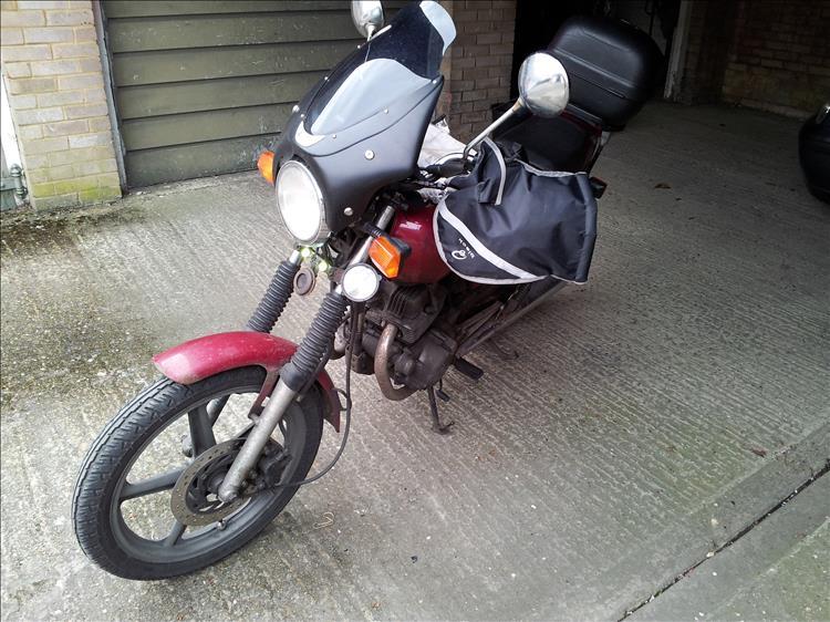 Honda CB250 1997