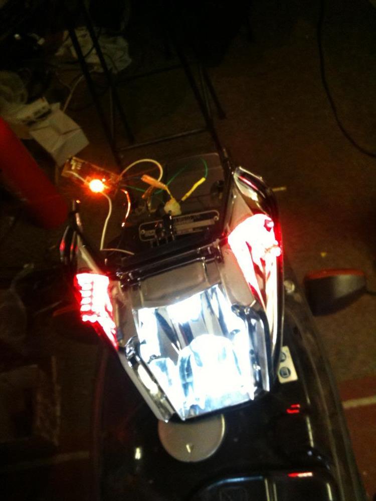New tail light array ANF125I