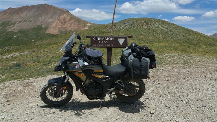 Far from home! Cinnamon pass, Colorado.