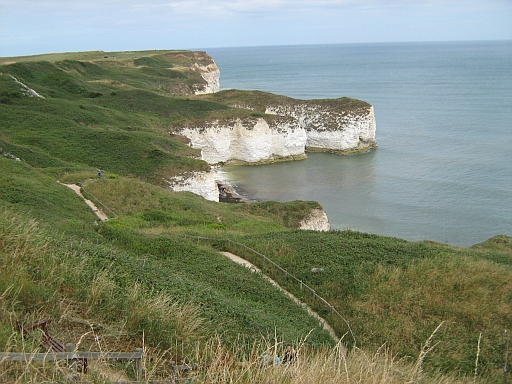 Chalk Cliffs at Flamborough Head