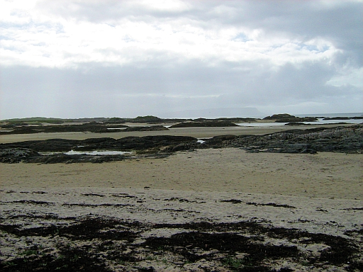 The Beach at Invercaimbe Campsite
