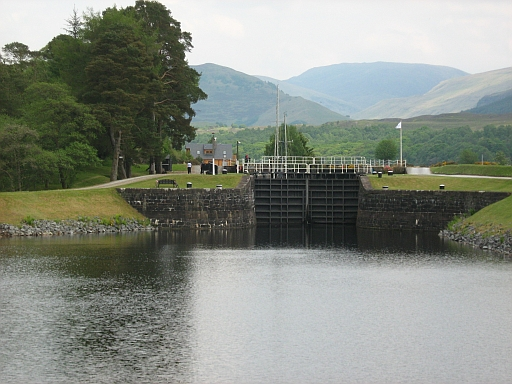 a lock at gairlochy
