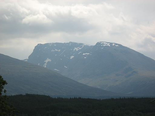ben nevis from the b8004 back road