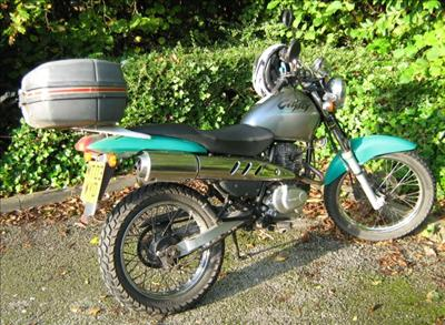 Honda CLR 125 City Fly
