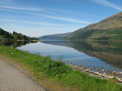 Loch Lochy on a beautiful day