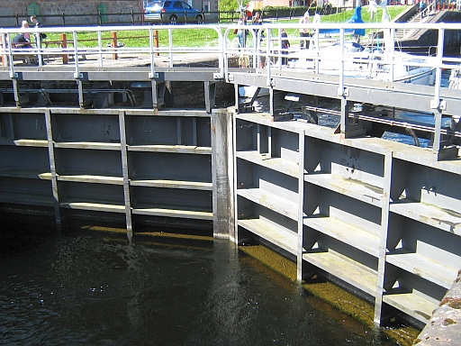lock gates at fort augustus