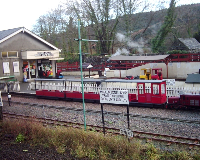 miniature trains and railway