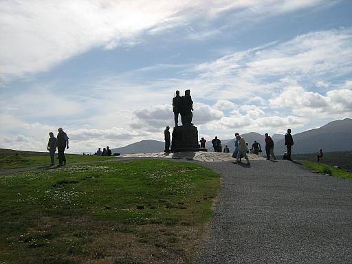 The commando memorial at spean bridge