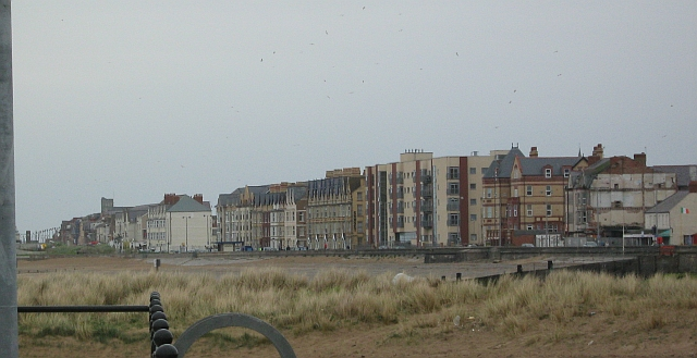 The outskirts of rhyl by the coast, not exactly picturesque