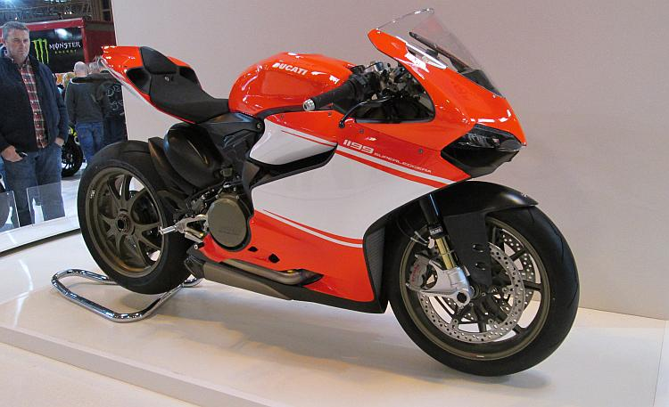 Ducati Superleggera supersports bike