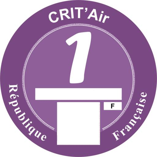 An example of the Crit 'Air sticker