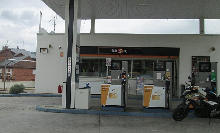 An ordinary petrol station in Northern Spain