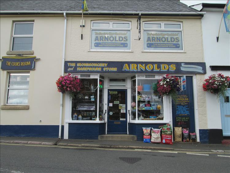 Arnold's Ironmongers, it looks like a small local shop but it's huge inside