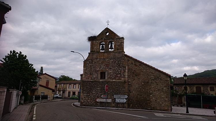 A small Spanish style church in the town, quite basic