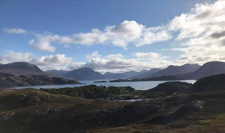 A stunning mixture of mountains, hills, sea, skies and landscapes in The Highlands