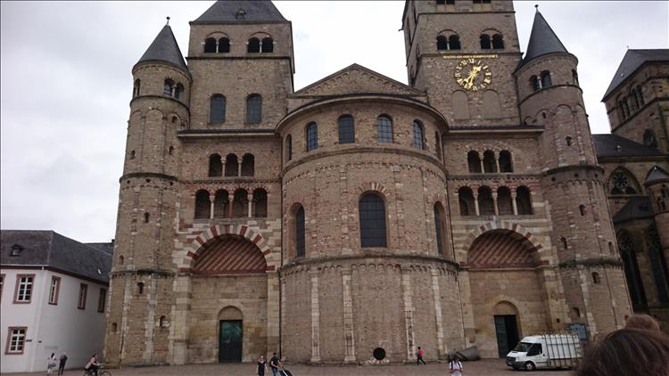 A large church in Trier built of stone