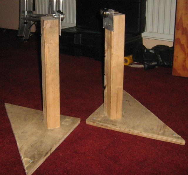 2 wheel balancer stands