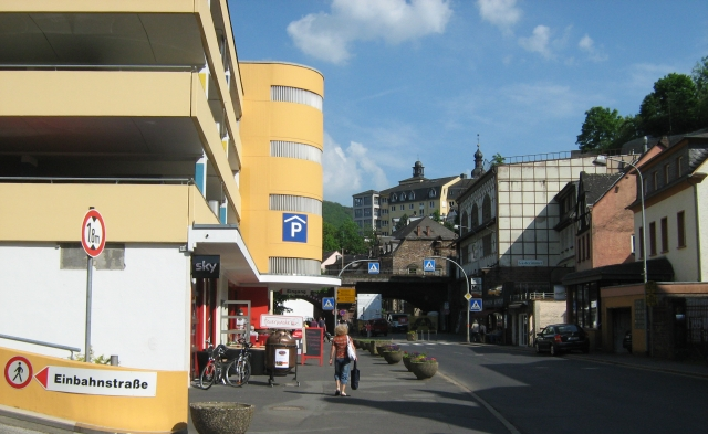 large bland and ugle car park in cochem germany