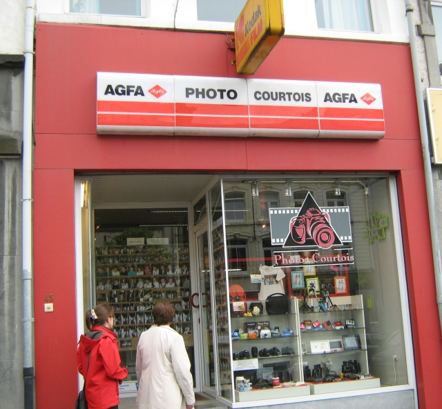 a kodak shop in bastogne