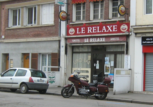a bar or tabac in an unknown town of norther france