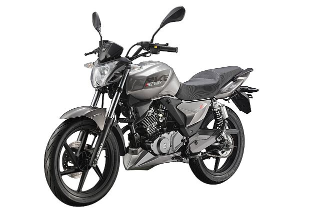grey rks 125 on white background