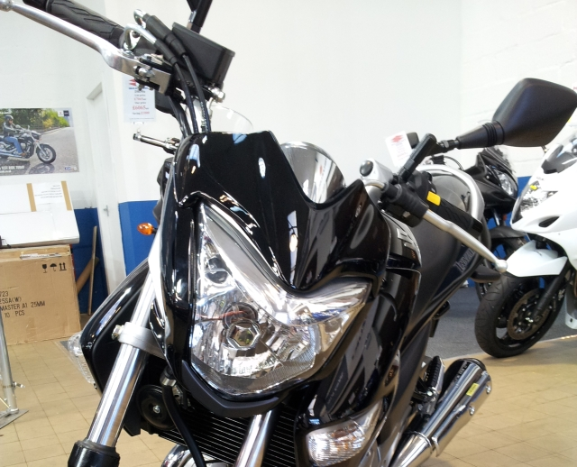 headlight and handlbars suzuki inazuma 250