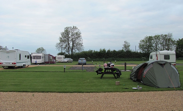 the smart and well trimmed travellers rest campsite