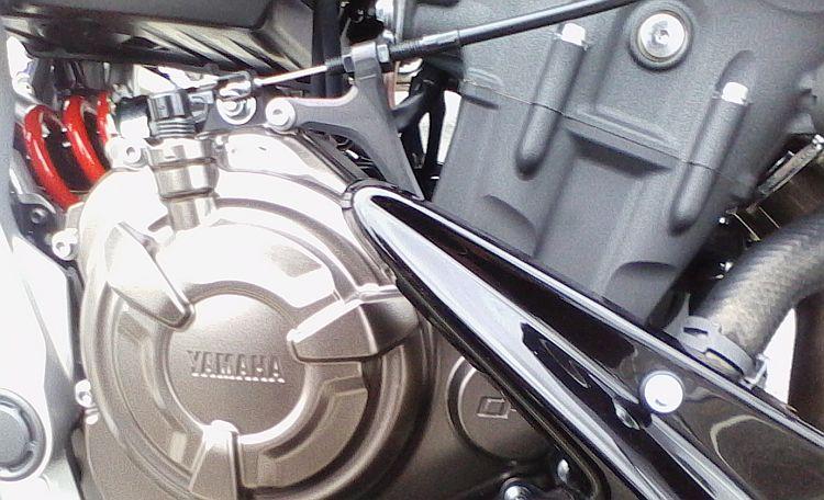 Yamaha MT07 engine
