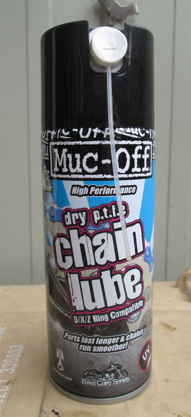 Muc Off Dry P T F E Chain Lube Review