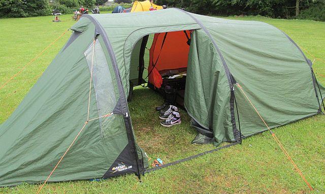 ren's vango equinox 350 tent, not big but big enough