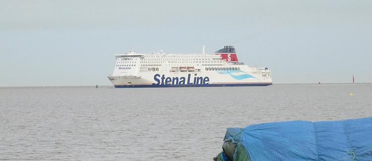 The Stena Hollandica, the ship that sails from Harwich to The Hook Of Holland