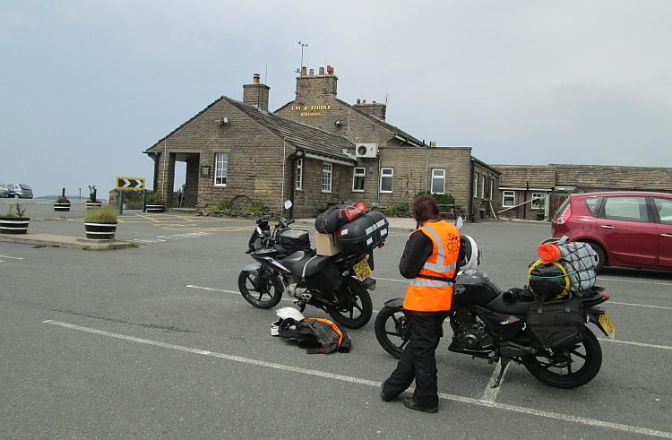 The Cat And Fiddle Pub between Buxton and Macclesfield. Presently closed