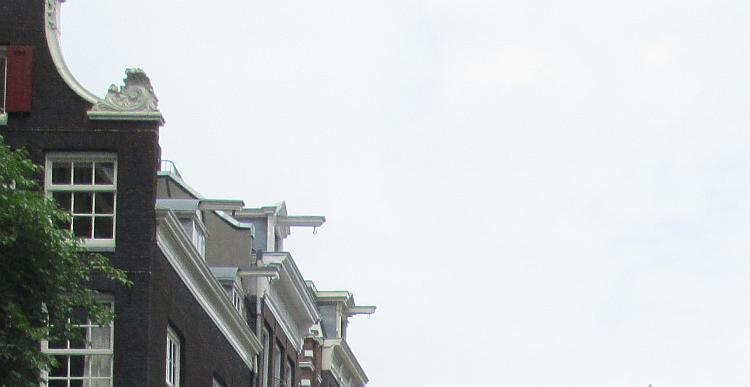 The hooks at the top of the tall thin houses in amsterdam to lift furniture