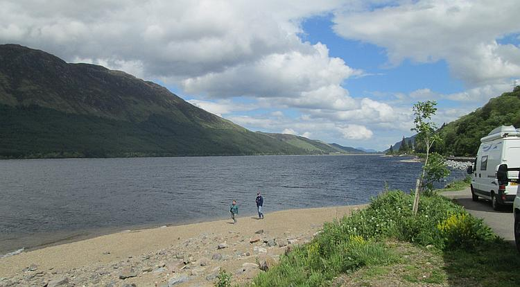 A typically majestic loch in the Highlands