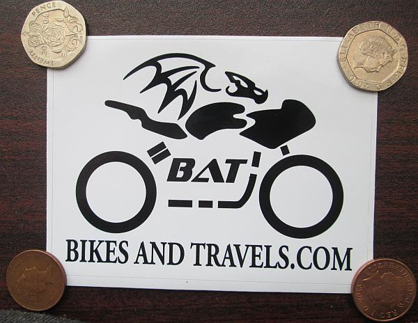 Bikes And Travels Sticker